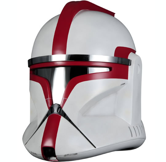 Star Wars Clone Trooper Captain Helmet Replica
