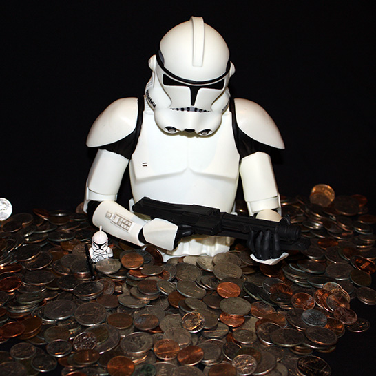 Star Wars Clone Trooper Piggy Bank