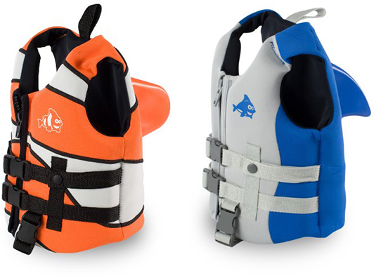 Clownfish and Dolphin Life Vests