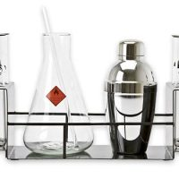cocktail chemistry drink set