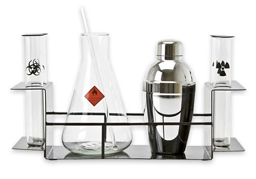 cocktail chemistry drink set