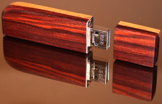 Wooden USB Drive