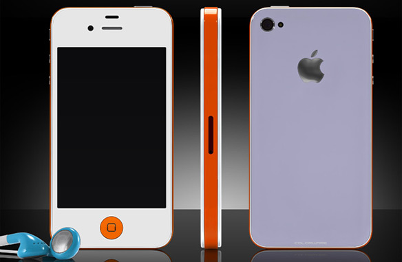 Custom Painted Colorware iPhone 4S