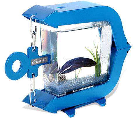 Usb mini aquarium by comfish for Mini aquarium