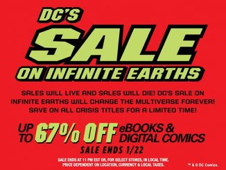 comiXology DC Infinite Earths Sale