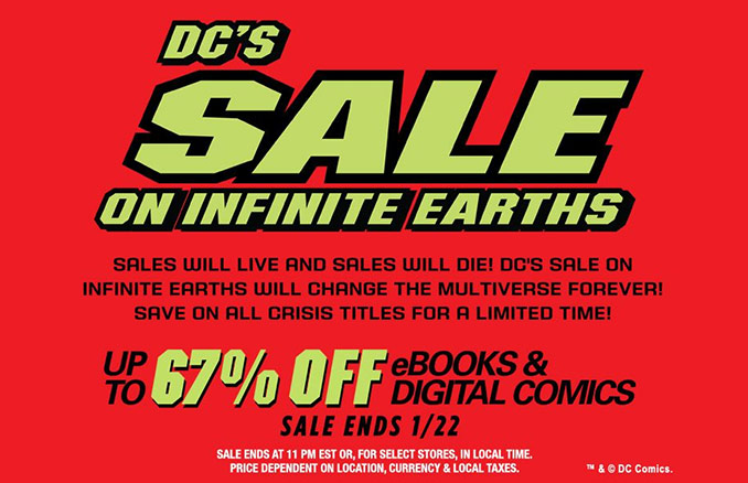 Books geekalerts comixology dc infinite earths sale up to 67 off fandeluxe Images