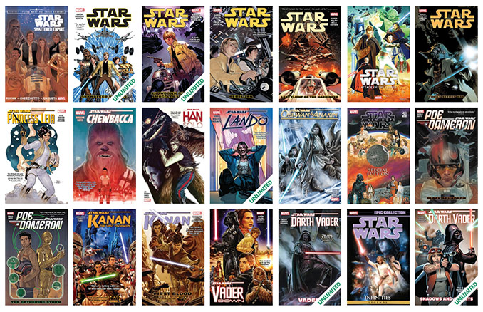 Comixology Star Wars