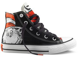 Converse Chuck Taylor Hi Top Dr. Seuss Shoes