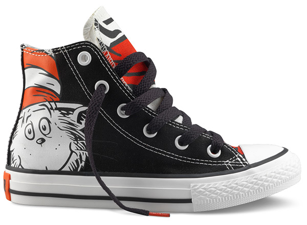 Converse Dr. Seuss Hi Top Shoes