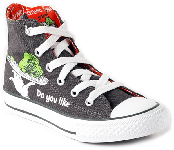 Converse Dr. Seuss Green Eggs and Ham Shoes