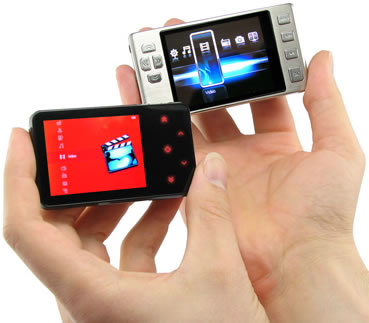 Credit Card Sized Digital Video Players