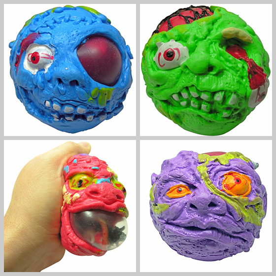Creeperz Monster Head Stress Balls