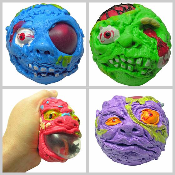 Creeperz Monster Head Stress Balls