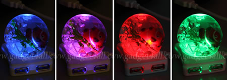 Crystal Ball USB Hub