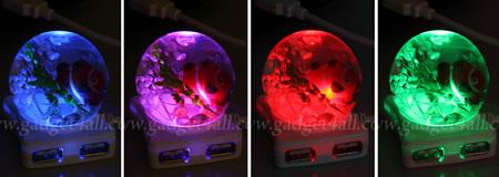 Crystal Ball USB Hub