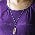 Crystal Cross Necklace USB Flash Drive