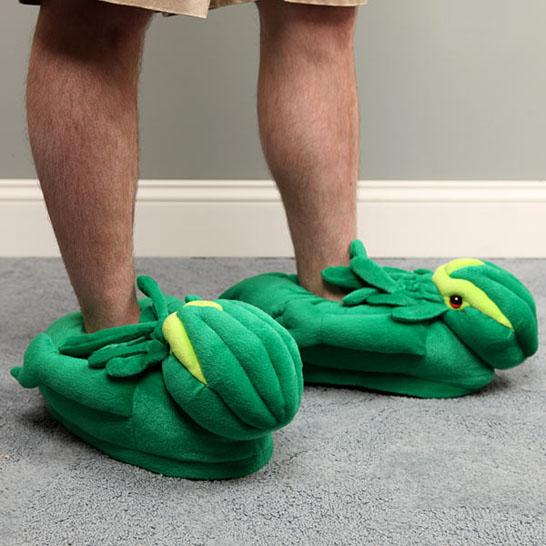 Plush Cthulhu Slippers