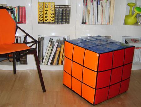 Rubik's Cube Hassock