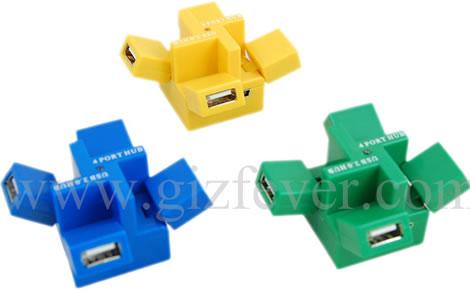 Cubic 4-Port USB Hub