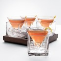 Cubist Martini Glasses