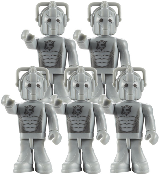Cyberman Doctor Who Character Building Army Pack