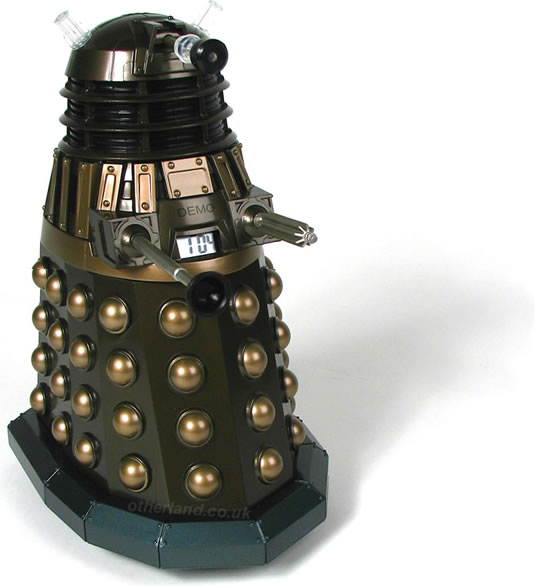 Talking dalek alarm clock - Tardis alarm clock ...