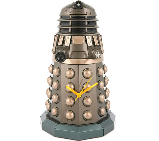 Doctor Who Dalek Illuminating Wall Clock
