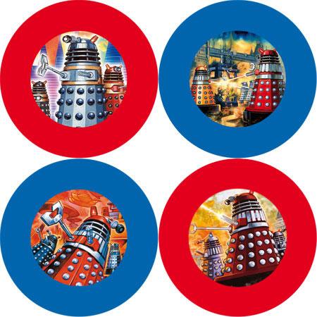 Doctor Who - Dalek Coasters