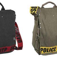 Danger Police Line Messenger Bags