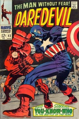 daredevil comic book