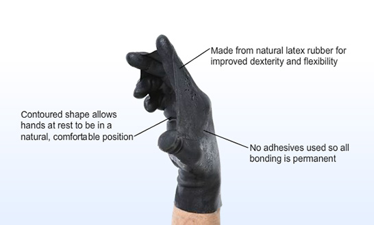 Darkfin Dive Gloves