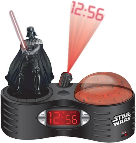 Darth Vader Projector Alarm Clock