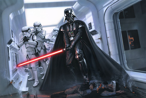 Darth Vader Artwork