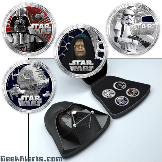 Darth Vader Coin Set