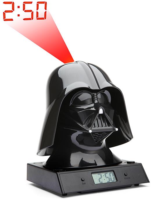 Darth Vader Projection Alarm Clock