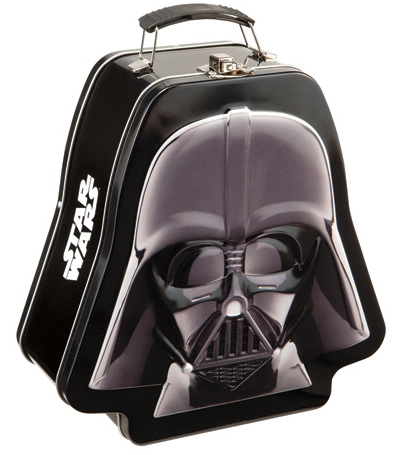 Star Wars Darth Vader Shaped Lunch Box