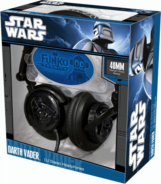 Darth Vader 3D Headphones