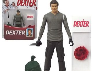 Dexter Action Figure With Blood Slide