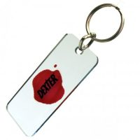 Dexter Blood Slide Key Chain