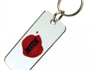 Dexter Blood Slide Key Chain