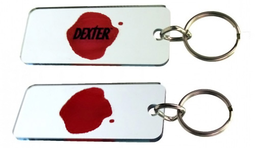Dexter Blood Slide Keyrings