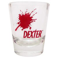 Dexter Blood Splat Shot Glass