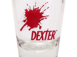 Dexter Blood Splat Shot Glass