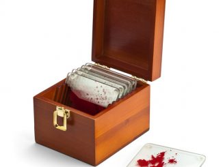 Dexter Blood Spatter Slide Coasters
