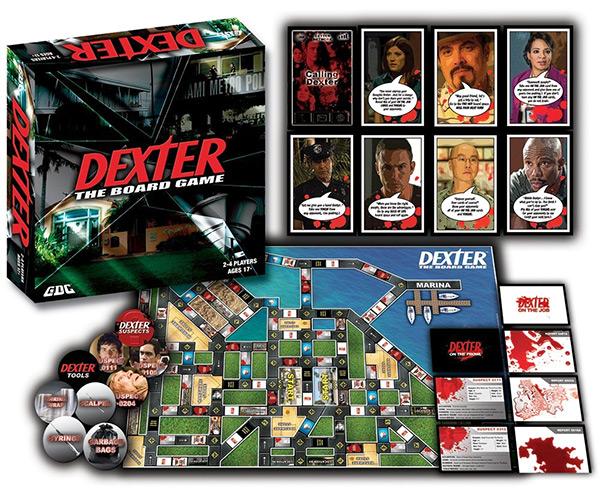 Dexter Board Game