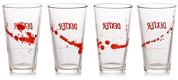 Dexter Pint Beer Drinking Glass Set