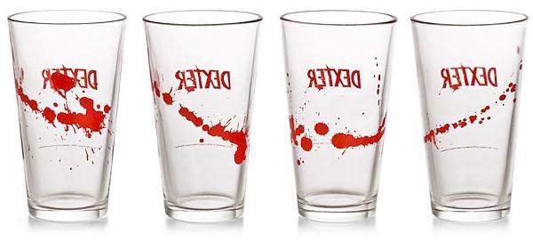 Dexter Pint Beer Drinking Glass Set