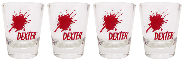 Dexter Shot Glasses