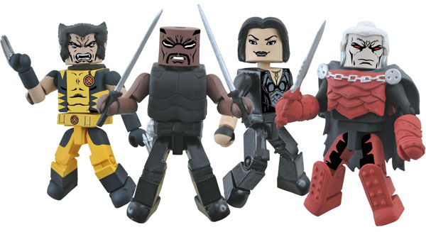 diamond select Minimates Curse of the Mutants Box Set