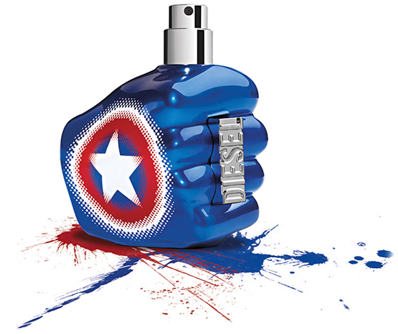 Diesel Only The Brave Captain America Cologne